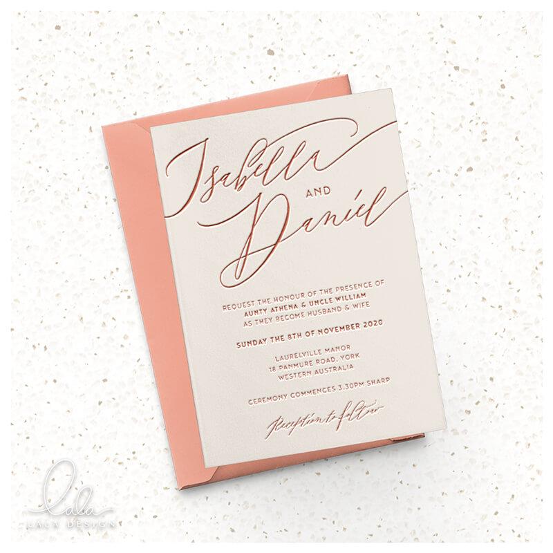 almond-letterpress-invite-insta-mock-lala-design-perth
