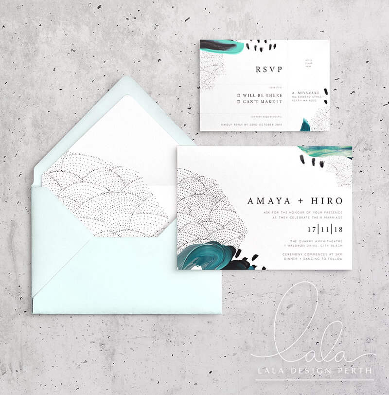 Studio Collection - Amaya Ink | Luxury wedding stationery - Perth WA