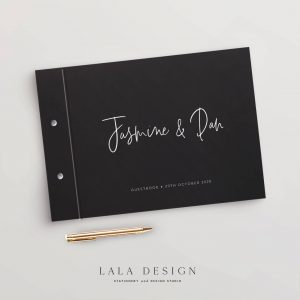 Autograph Guestbook | Wedding & Engagement stationery - Perth WA