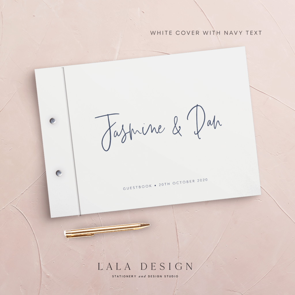 Autograph Guestbook | Wedding, event & corporate keepsakes - Perth WA