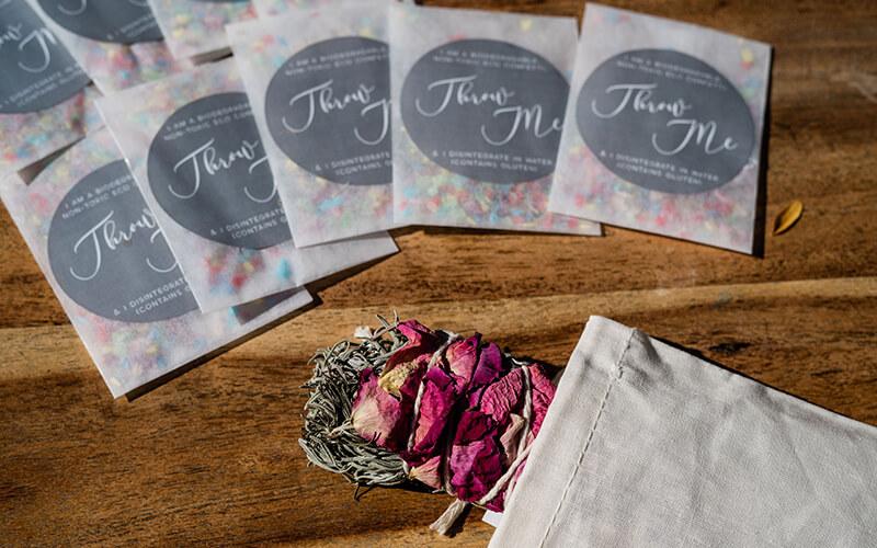Ceremony Feels Eco confetti envelopes lala design 800x500