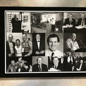 birthday guestbook-black and white photo collage cover- by-lala-design perth