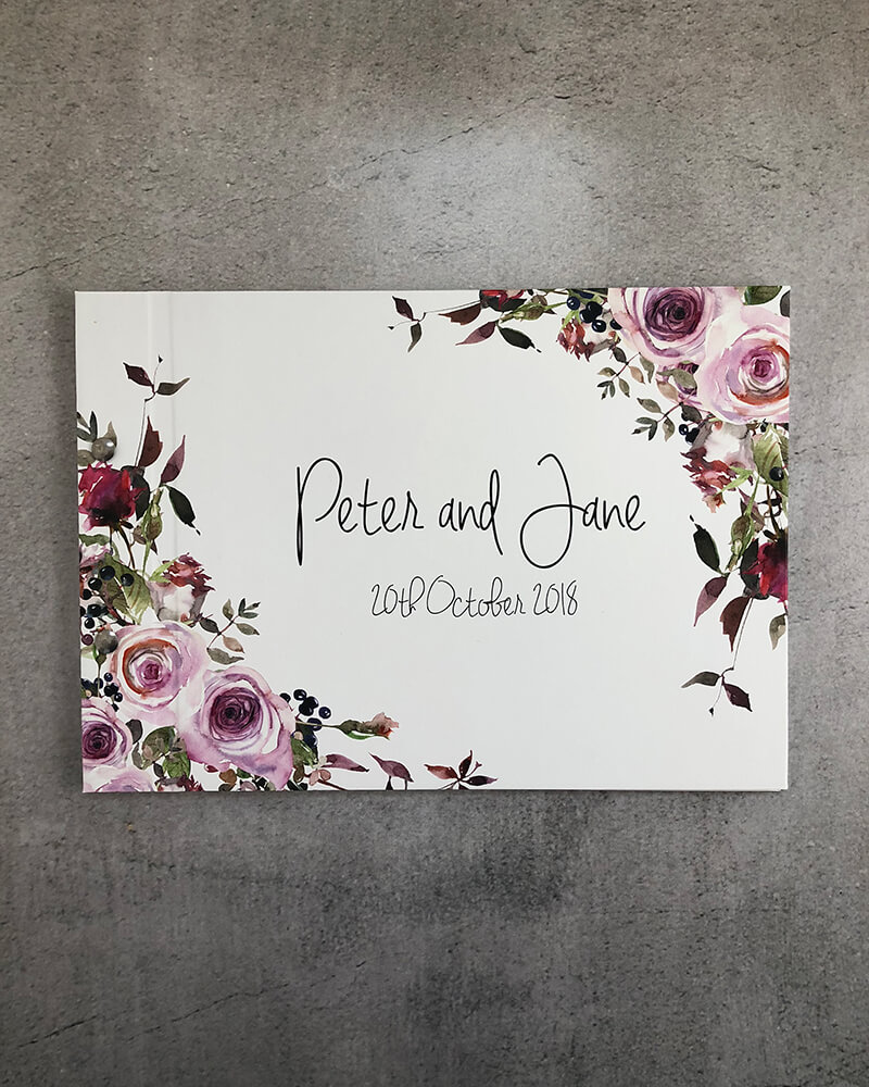 wedding guestbook-peter and jane-by-lala-design perth
