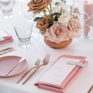 wedding guests menus- feast menu with skinny placecard name tag-grey and white wedding- acqua viva open day 2019-lala design perth