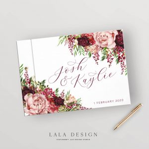 Kaylie's Florals Guestbook | Wedding, event & corporate keepsakes - Perth WA