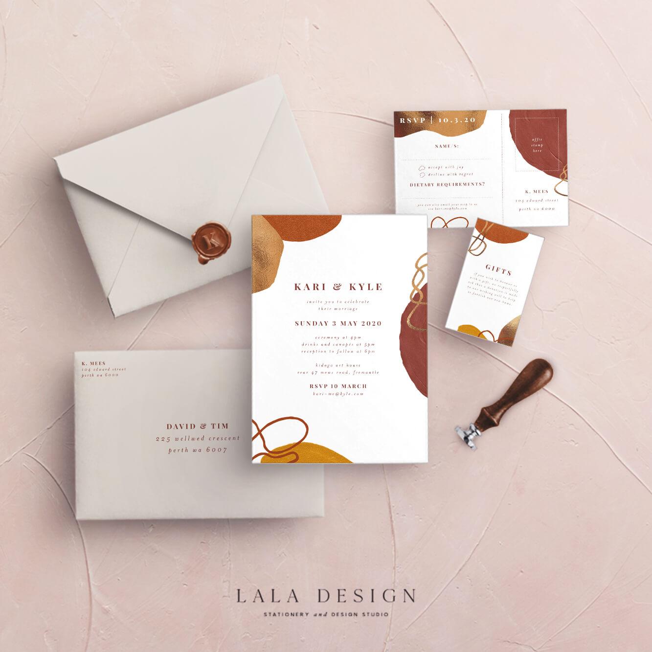 Studio Collection | Baya | Luxury wedding stationery - Perth WA