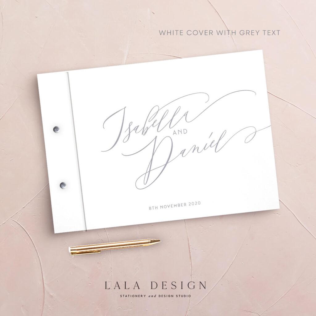 Allegra Guestbook | Wedding & Engagement stationery - Perth WA