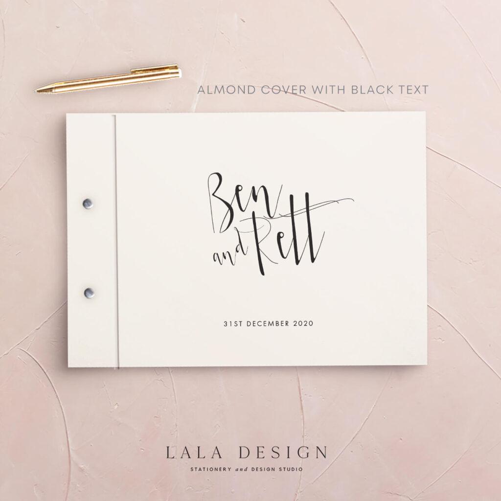 Alto Guestbook | Wedding & Engagement stationery - Perth WA