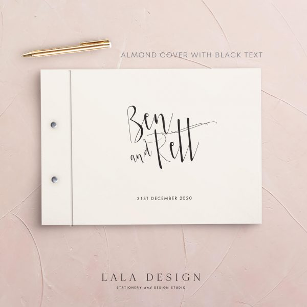 Alto Guestbook | Wedding & Engagement stationery - Perth WA