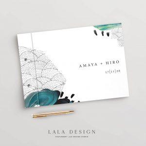 Amaya Ink Guestbook | Wedding & Engagement stationery - Perth WA