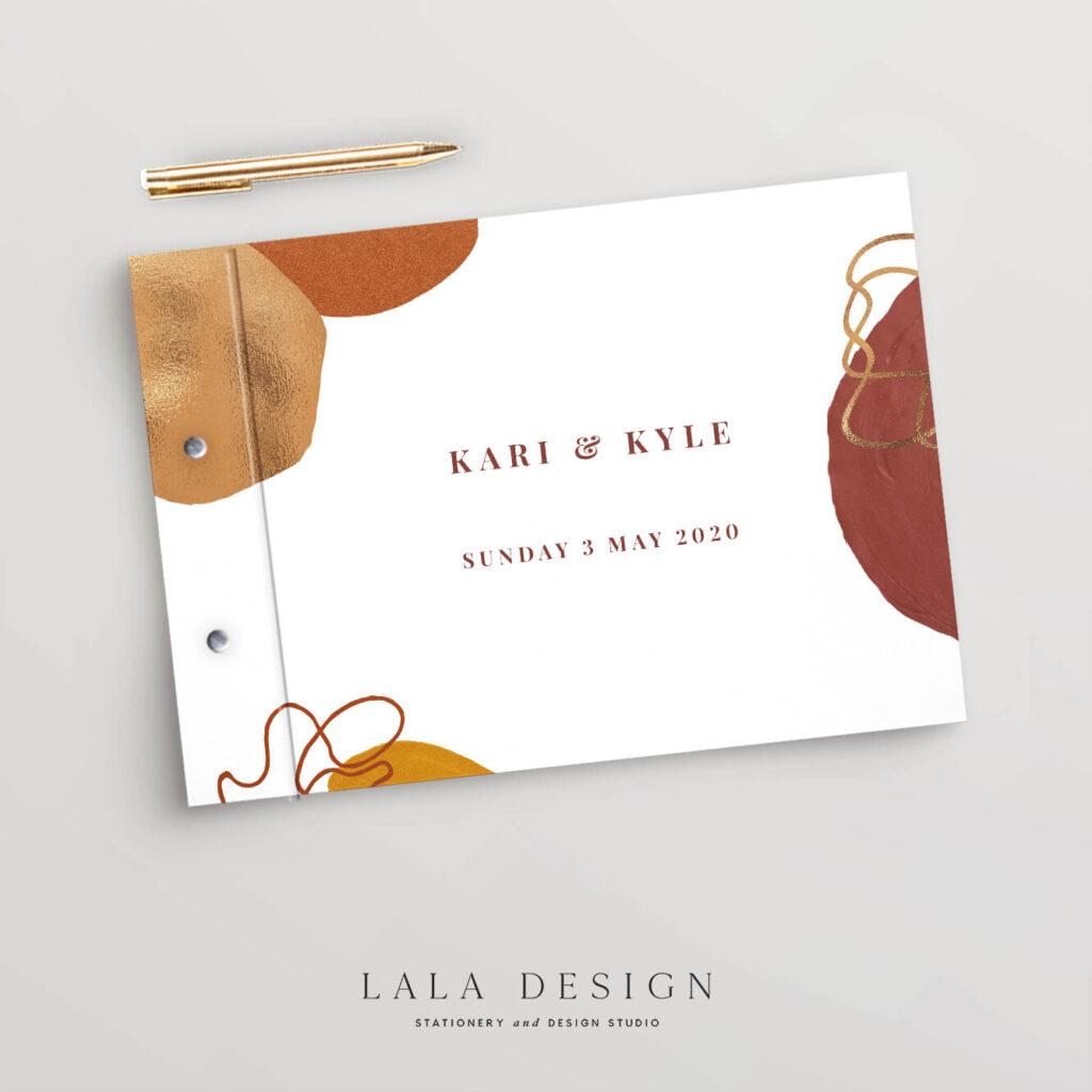 Baya Guestbook | Wedding & Engagement stationery - Perth WA