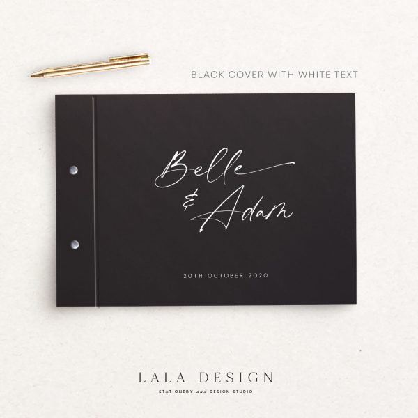Belle Guestbook | Wedding & Engagement stationery - Perth WA