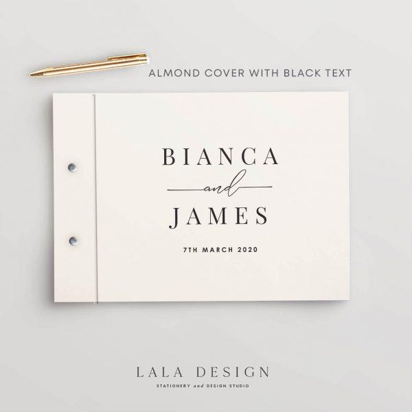 Bianca Guestbook | Wedding & Engagement stationery - Perth WA