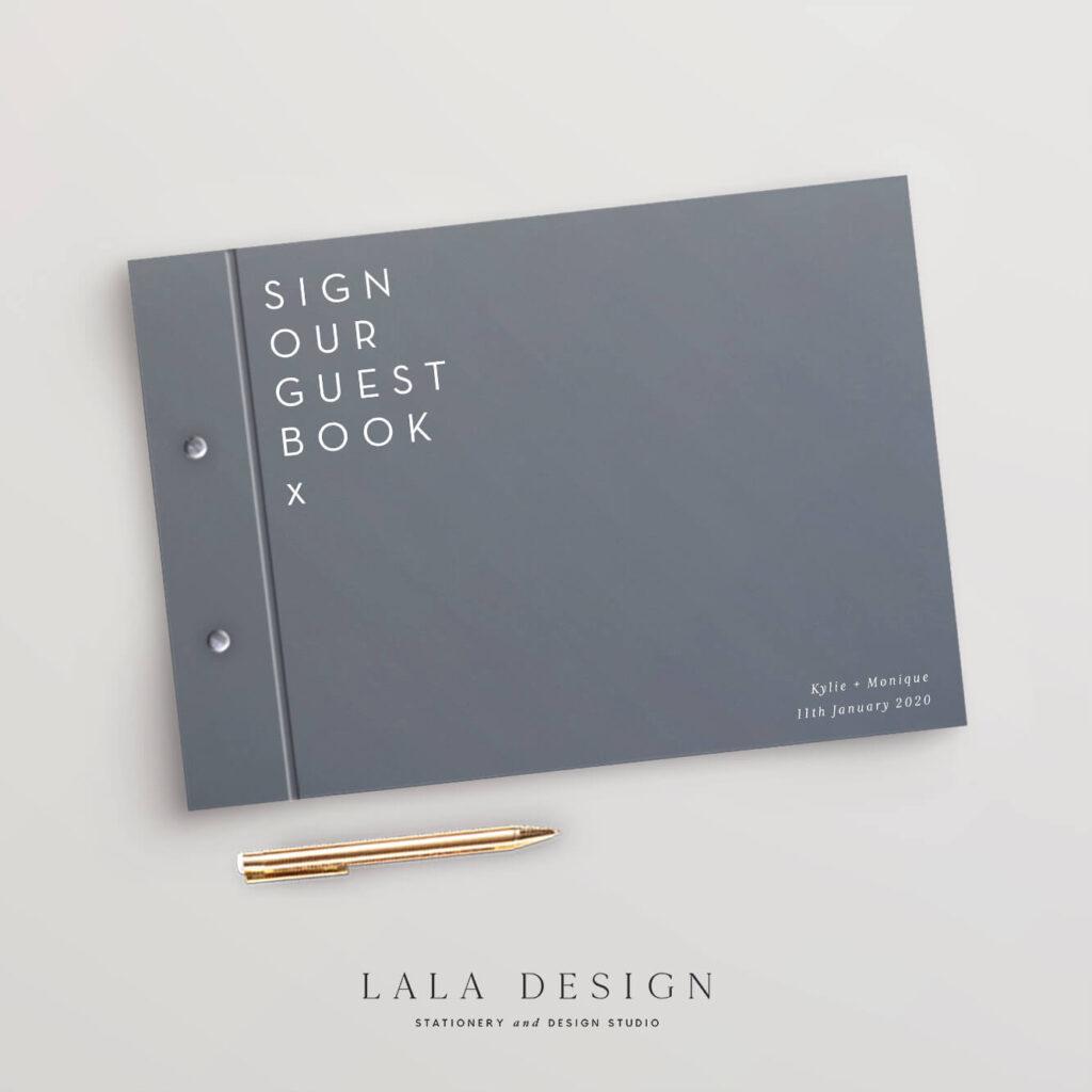 Fenix Guestbook | Wedding & Engagement stationery - Perth WA