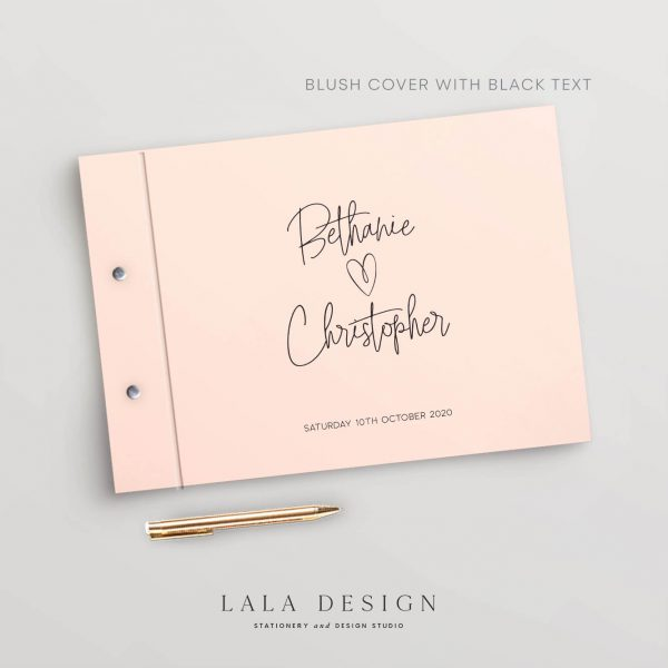 Love Actually Guestbook | Wedding & Engagement stationery - Perth WA