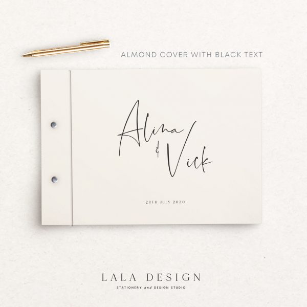 Spiced Honey Guestbook | Wedding & Engagement stationery - Perth WA