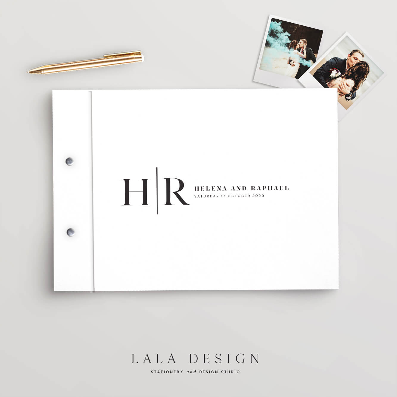 Treasury Guestbook | Wedding & Engagement stationery - Perth WA