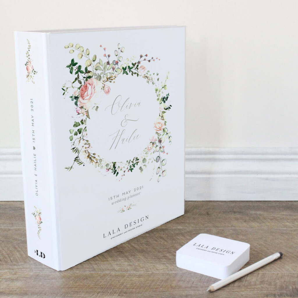 Bloom Wedding Planner File - Lala Design Perth