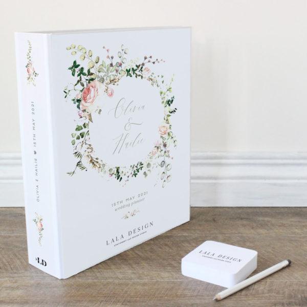 Bloom Wedding Planner File - Lala Design Perth