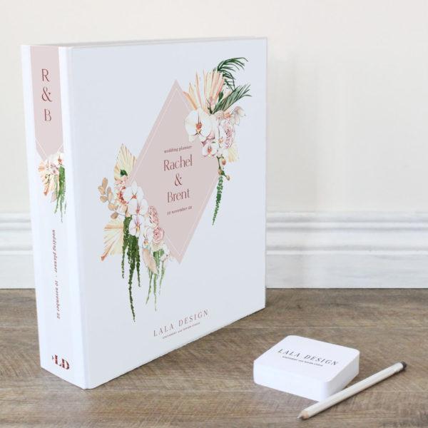 Porcelain Wedding Planner File - Lala Design Perth