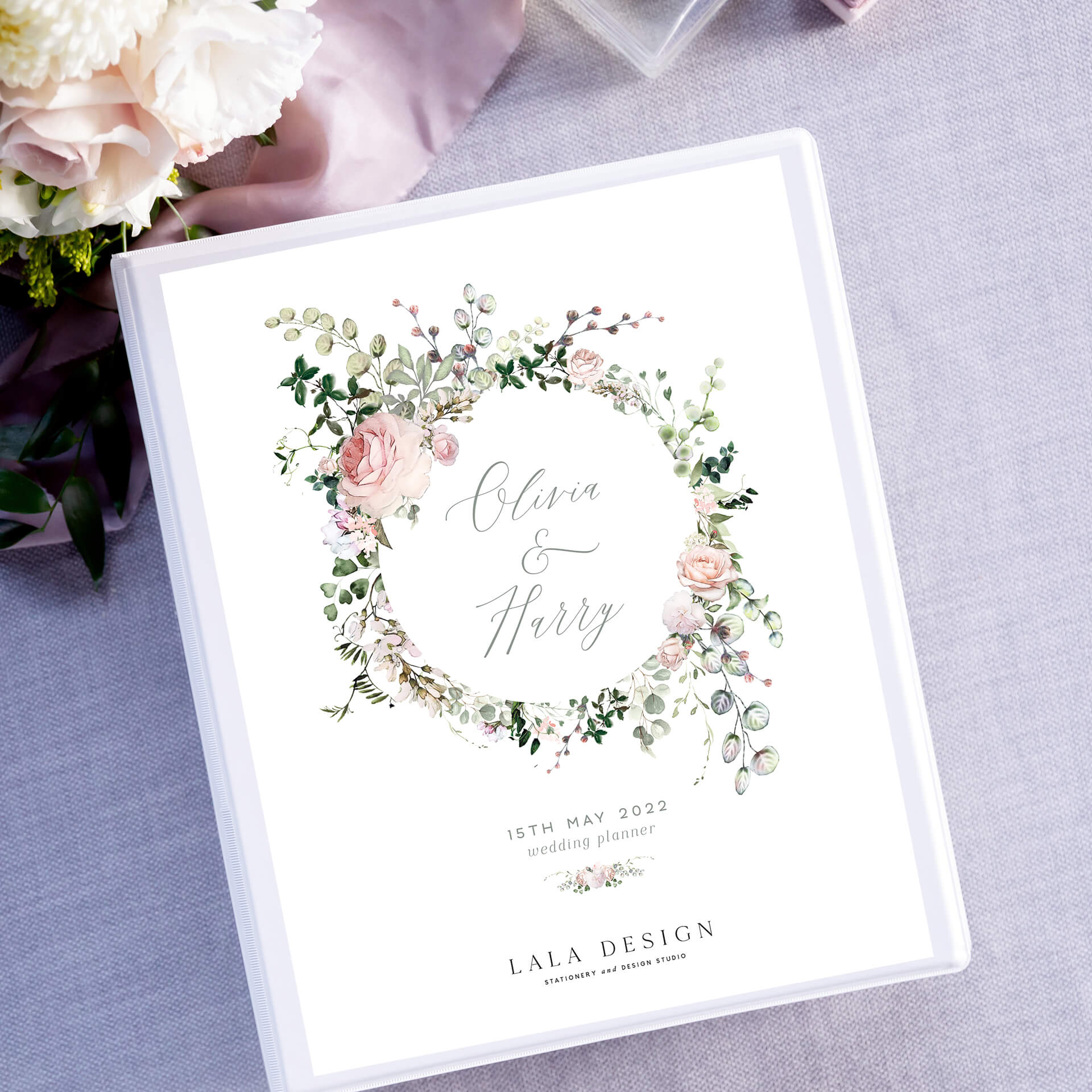 The best wedding planner for Australian weddings | Lala Design wedding planner book Perth WA