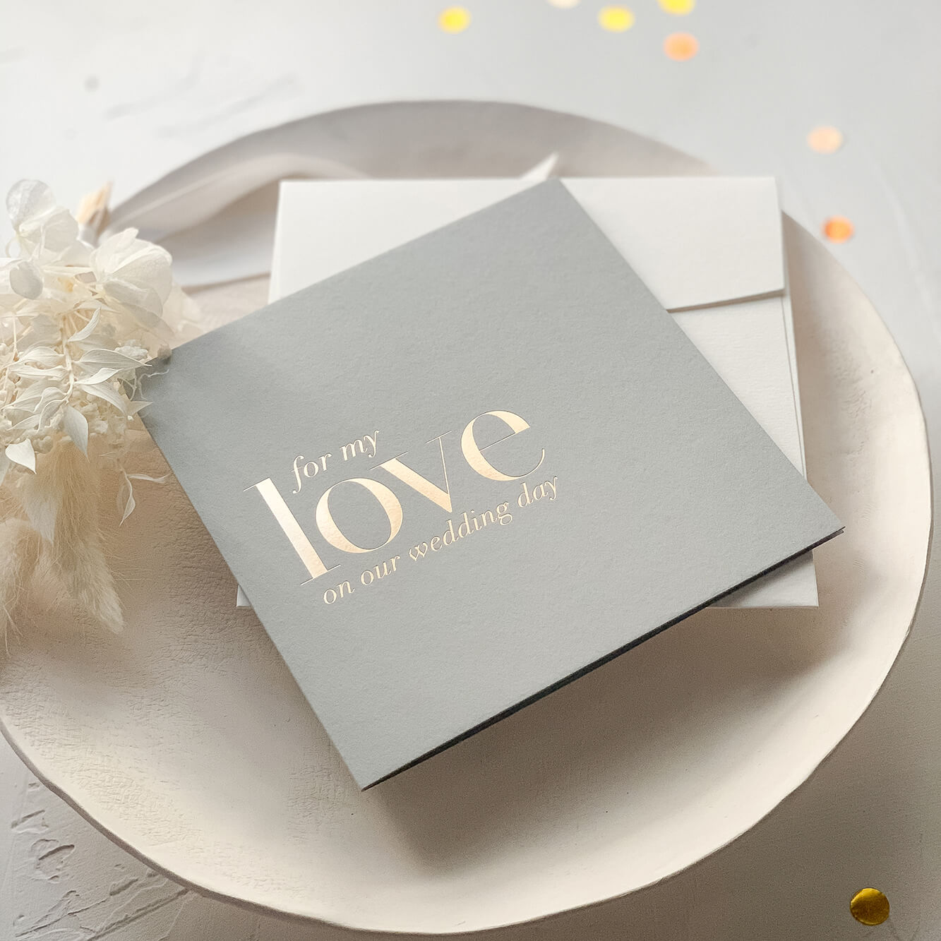 For My Love Card by Ooh-Aah Invitations | Lala Design Perth WA