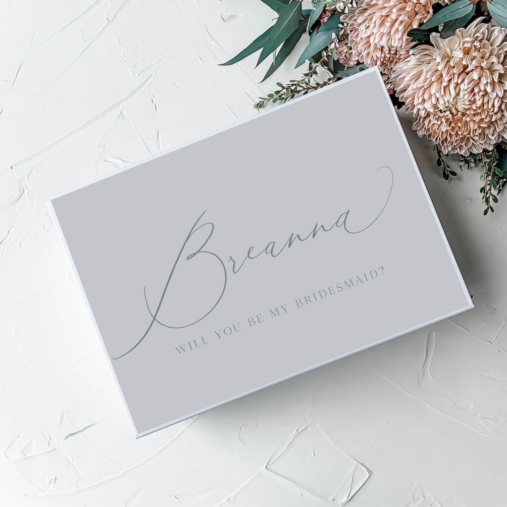 Dainty Gift Box | Personalised gift and bridesmaid boxes Perth WA
