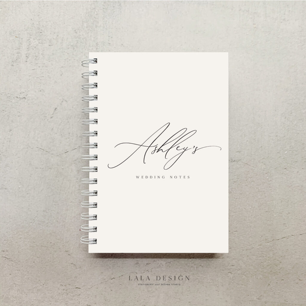 Dainty Notebook | Personalised note books - Perth WA
