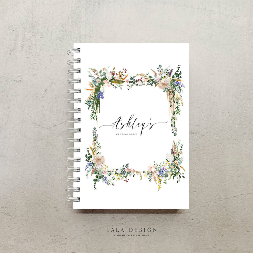 Hopes Garden Notebook | Handmade & Custom designed note books - Perth WA