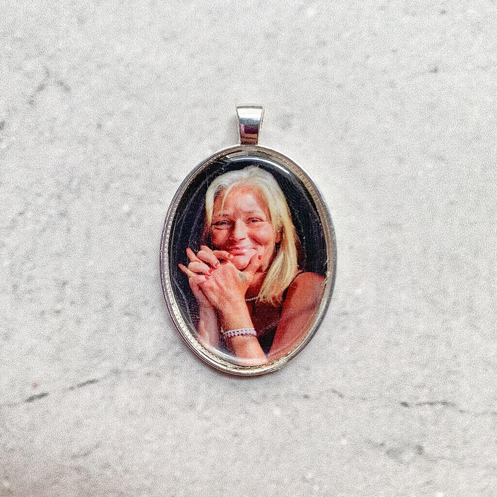 Modern silver pendant - Bouquet Pendants - Lala Design Perth WA
