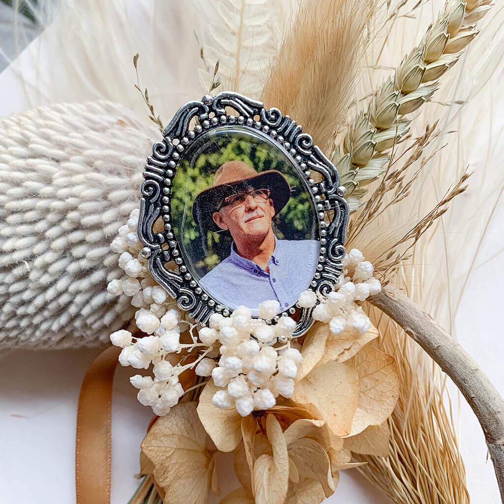 Silver Vintage Pendant - Bouquet Pendant - Lala Design Perth WA 03