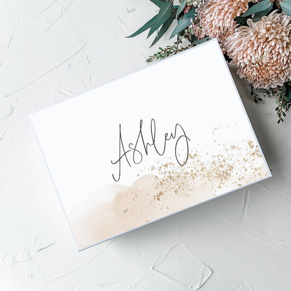 Gold Dust | Personalised Gift Boxes & Bridesmaid Boxes Perth WA