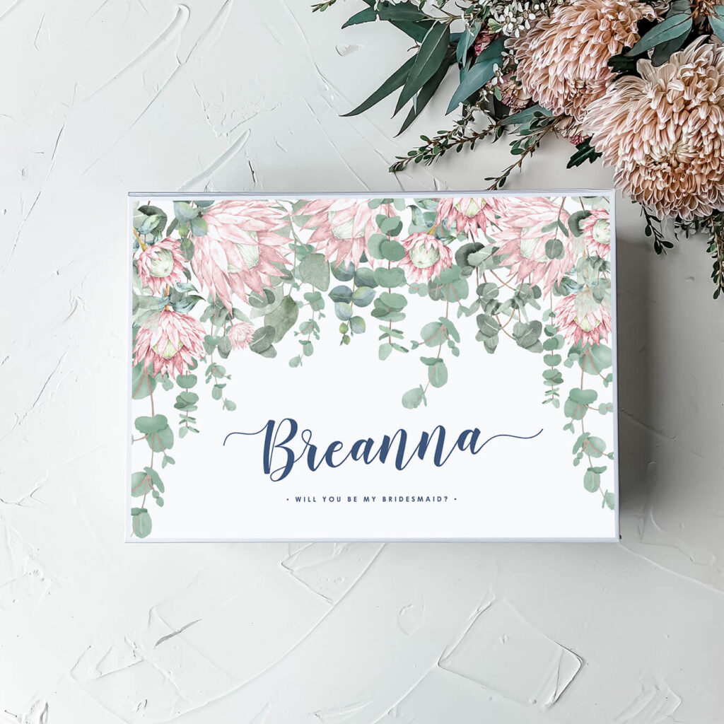 Jamies Protea's | Personalised Gift Boxes & Bridesmaid Boxes Perth WA