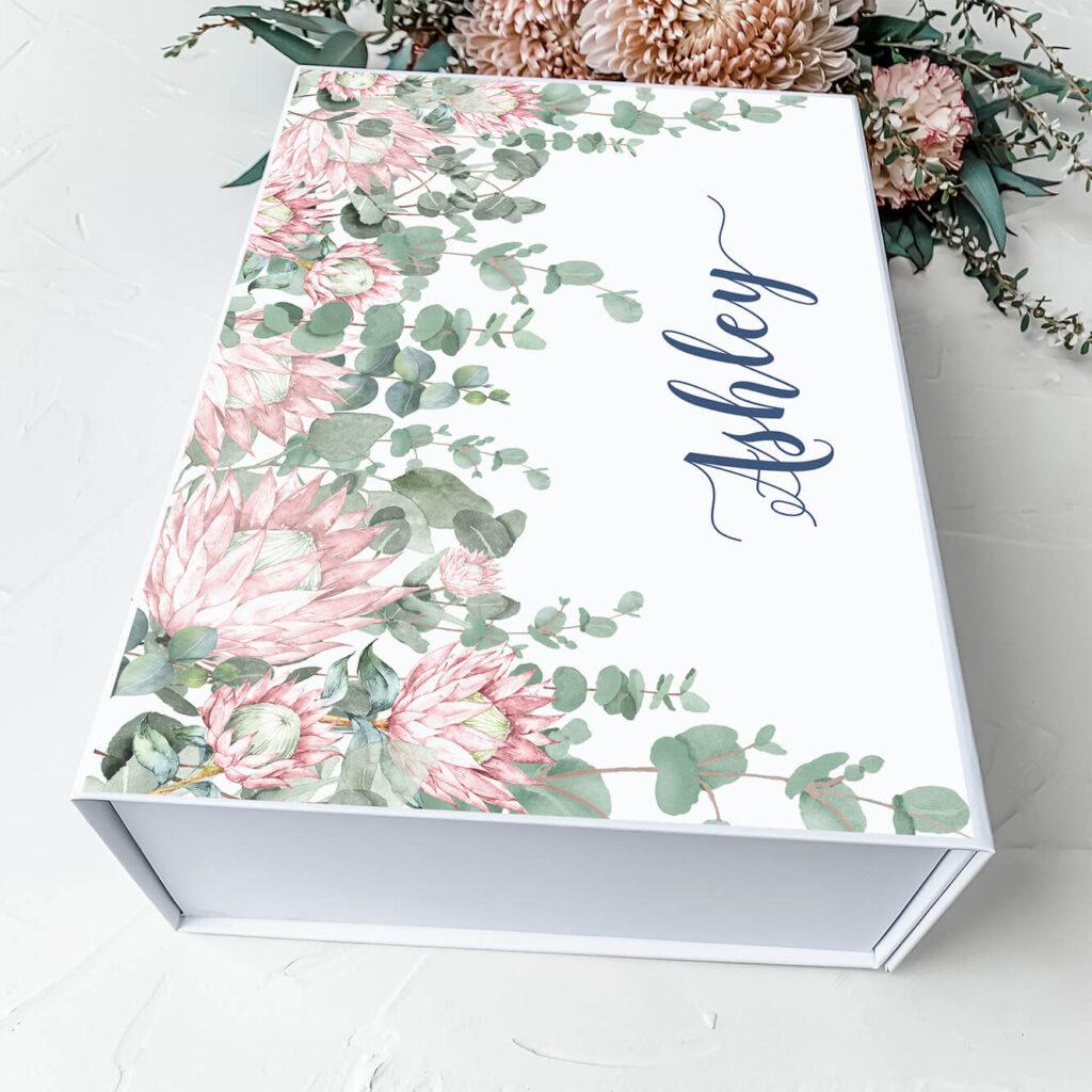 Jamies Protea's | Personalised Gift Boxes & Bridesmaid Boxes Perth WA