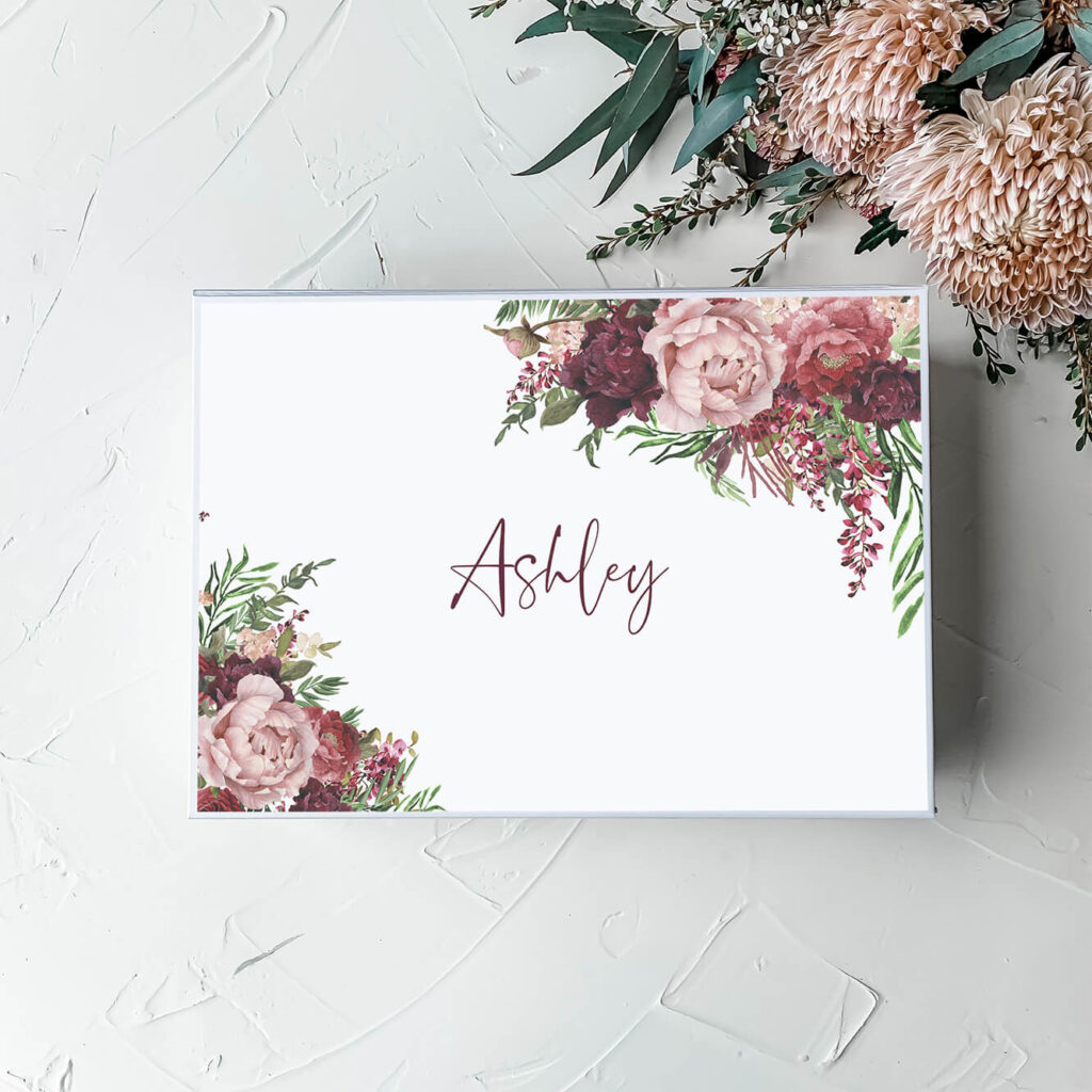 Kaylie's Florals | Personalised Gift Boxes & Bridesmaid Boxes Perth WA