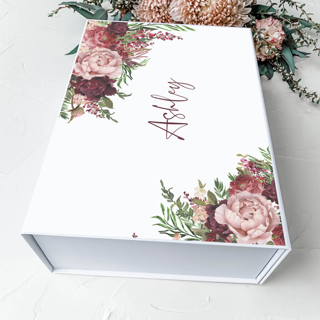 Kaylie's Florals   Personalised Gift Boxes & Bridesmaid Boxes Perth WA
