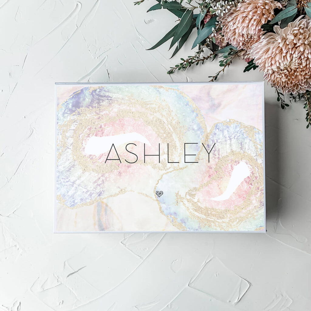 Moonstone | Personalised gift boxes & bridesmaid boxes - Perth WA