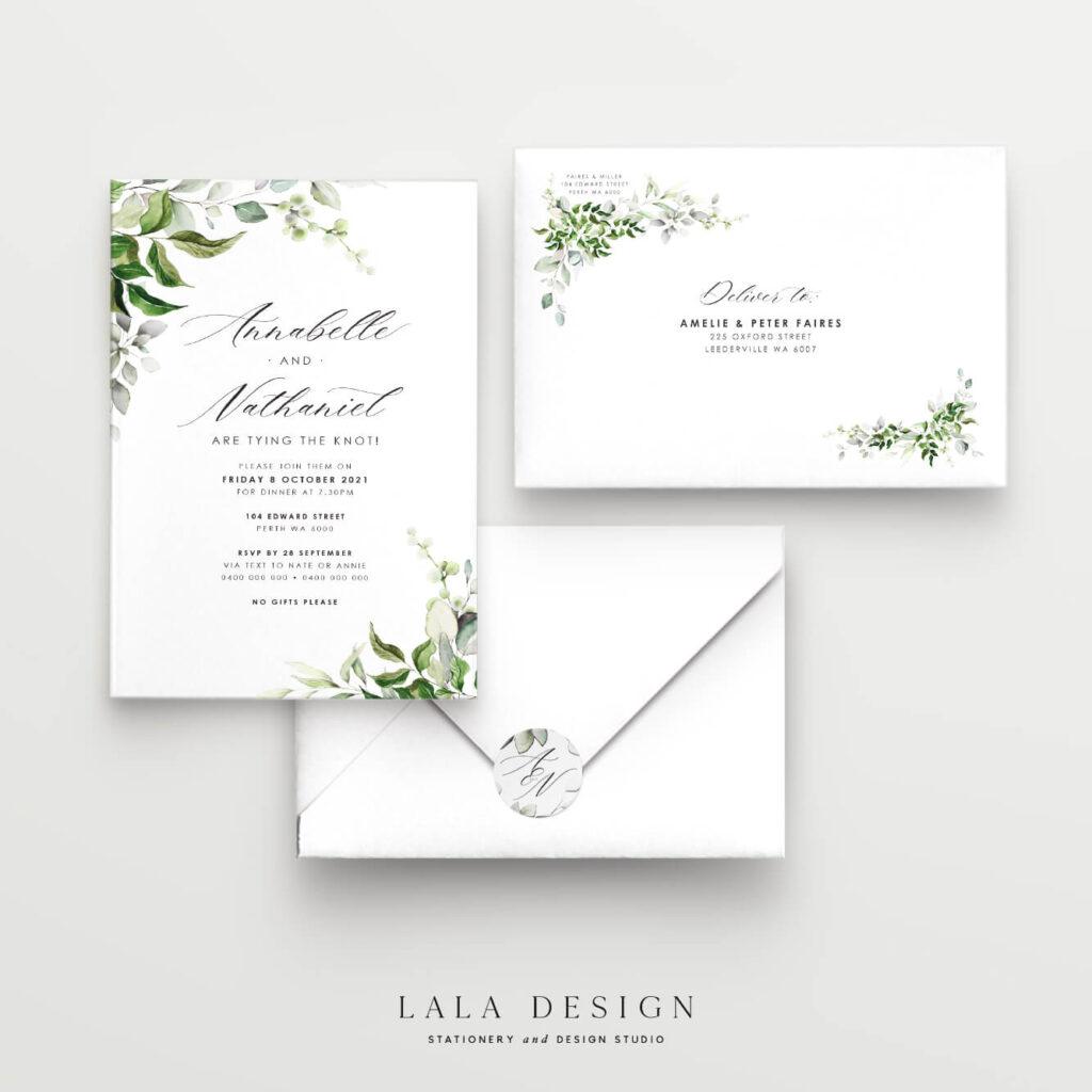 Order premium wedding invitations online   Wedding Stationery - Perth WA
