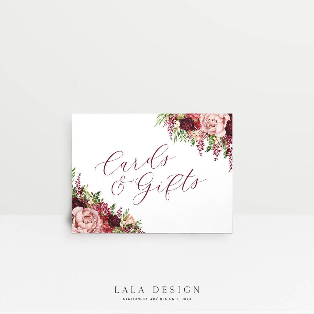 Wishing Well Signage | Luxury wedding invitations Perth WA