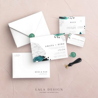 Studio Collection | Amaya Ink | Luxury wedding stationery - Perth WA